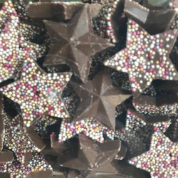 Chocolate Stars - Sweets and Treats - www.bigbouncybriers.co