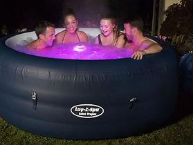 New York Lay Z Spa 1 - Hot Tub Hire - ww
