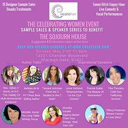 CreateHer Celebrating Women Speaker Seri
