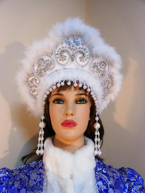 "Кокошник ""Снегурочка"" КС-12"