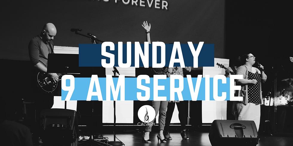 9 AM Service