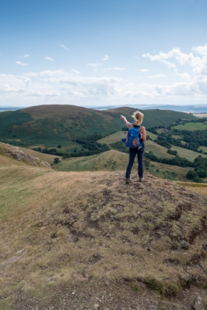 Caer Caradoc summit