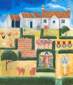 White Cottage Garden