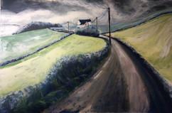 Quiet lane to Parwich