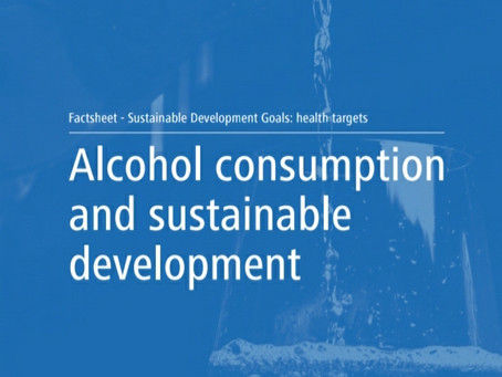 Fact sheet on the SDGs: Alcohol consumption and sustainable development (2020)