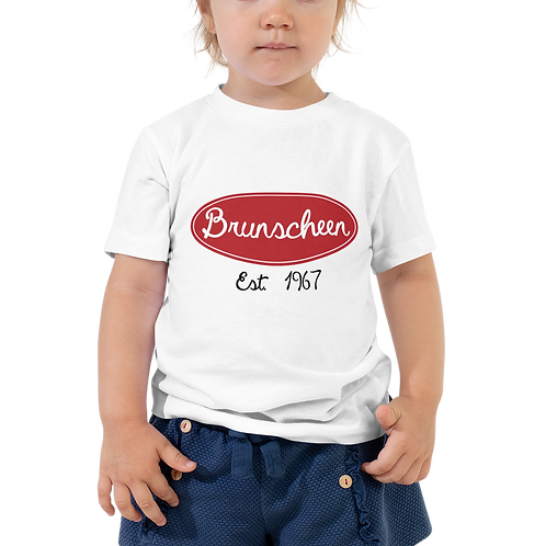 "Robert Brunscheen Trucking ""Peterbilt"" Toddler Short Sleeve Tee"