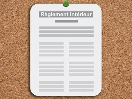 Entreprises d'au moins 20 salariés : En l'absence de règlement intérieur, l'employeur ne dispose pas