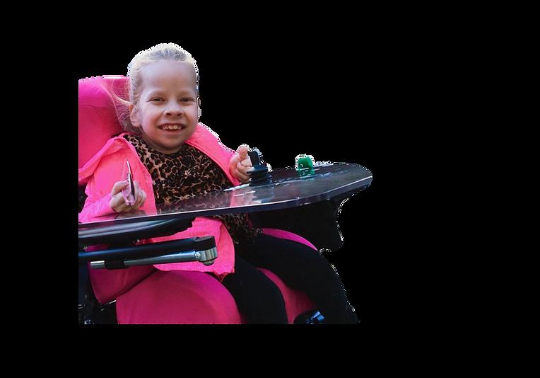 Juli, Rollstuhl, Danlos Ehlers Syndrom, Pink, Begleithund
