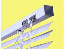 Горизонтальные алюминиевые жалюзи 25 мм. Амиго Дизайн