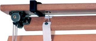 Горизонтальные деревянные и бамбуковые жалюзи AMILUX РЕТРО Амиго Дизайн
