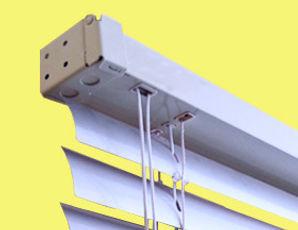 Горизонтальные алюминиевые жалюзи 50 мм. AMILUX Амиго Дизайн