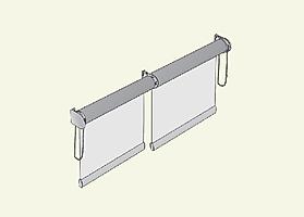 рулонные шторы на пластиковые