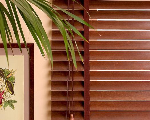 Горизонтальные деревянные и бамбуковые жалюзи ДЕКОР Амиго Дизайн
