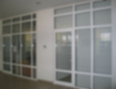 Офисные перегородки VEKA.