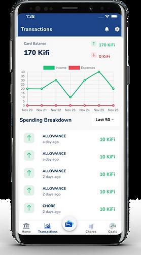 Kids Finance app