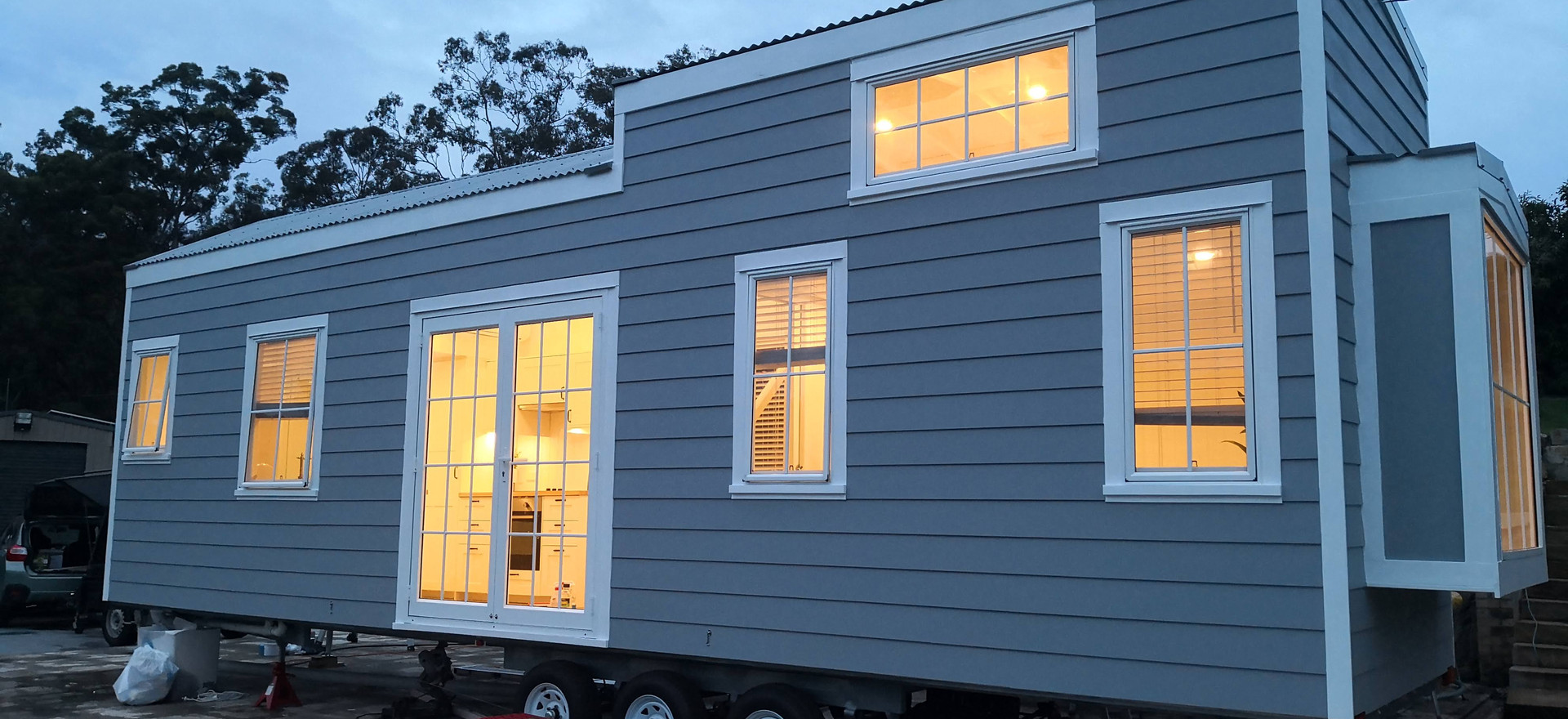 Stunning 3 bedroom Hamptons in Willow Vale, SE QLD Style Tiny House