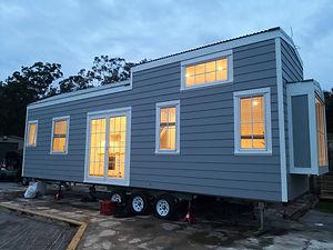 Hamptons style tiny house