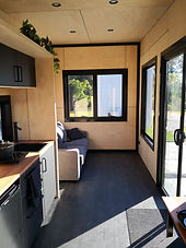 Tiny house livin area