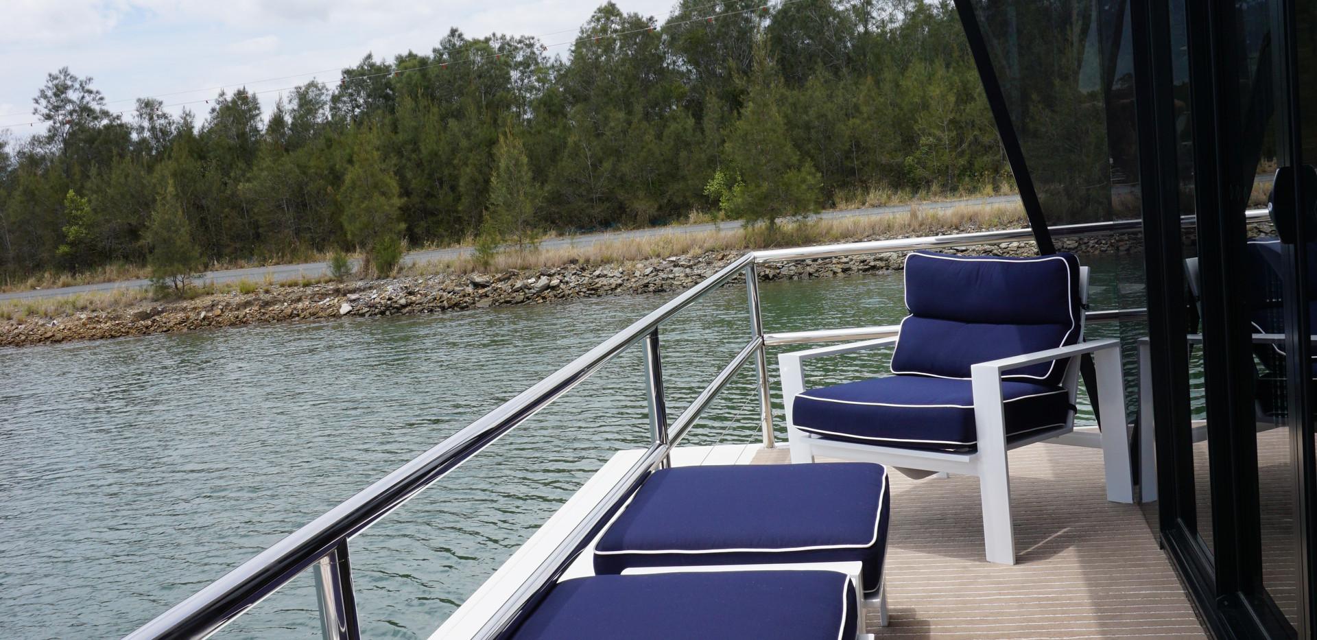 Houseboat Deck
