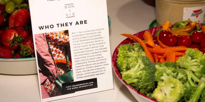 Food Sponsor Bon + Vie