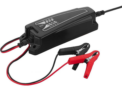Charger for rech. lead batteries, 6 V, 12 V, 4 A max.