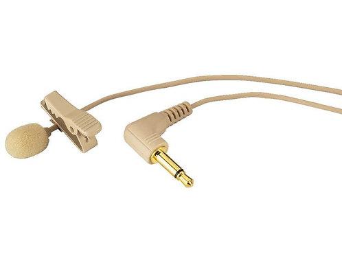 Elektrét csíptetős mikrofon