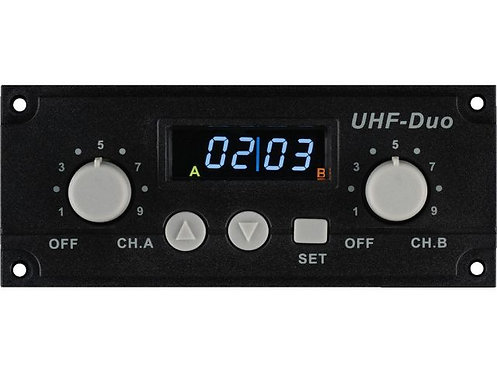 2-channel multifrequency receiver module