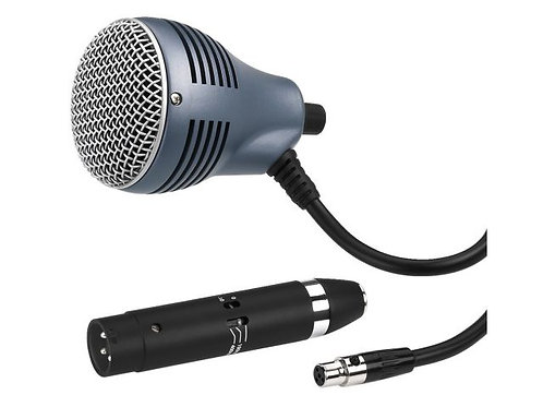 Dinamikus szájharmonika-mikrofon