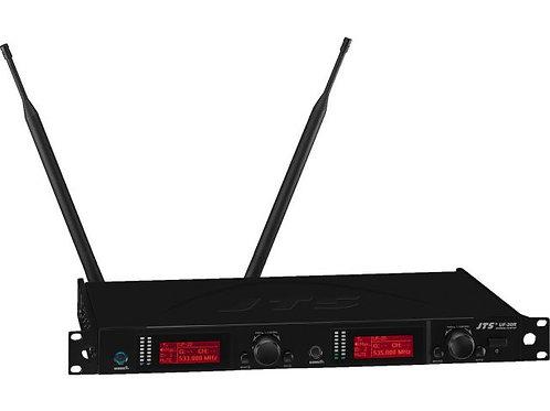 2-channel true diversity UHF PLL wideband receiver