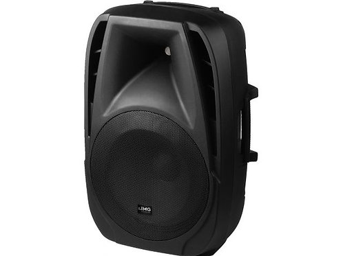 Active DJ and power speaker system, 200 W