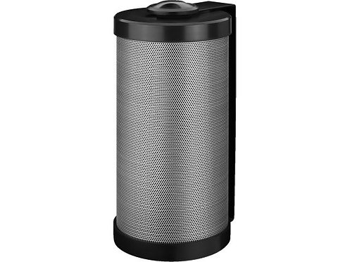 2-way PA wall-mount speaker system, black