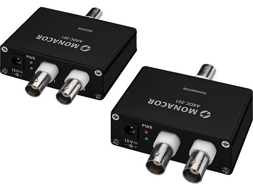 2-channel one-cable transmission set