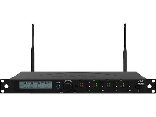 4-channel diversity UHF PLL wideband receiver for conference system