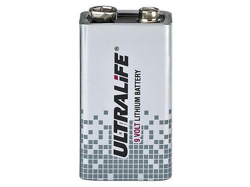 9V-os, nagy energiasűrűségű lítium elem