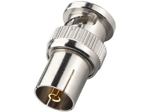 BNC dugó/lengő antenna aljzat átalakító
