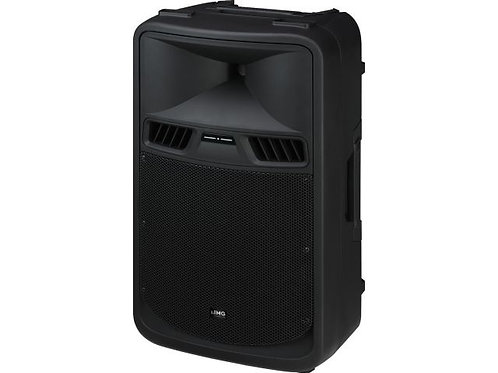 Active power PA speaker system with 2-channel amplifier, 700 W/