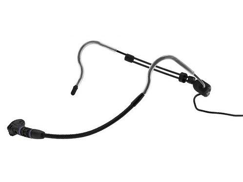 Elektrét fejpántos mikrofon fekete színű kivitelben
