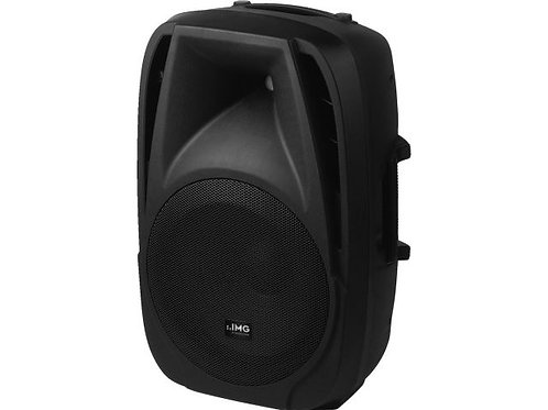 Active DJ and power speaker system, 180 W