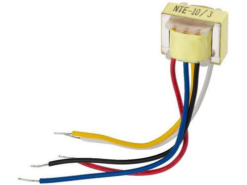 1:3/1:10 áttételű audió transzformátor mikrofonszintű jelekhez