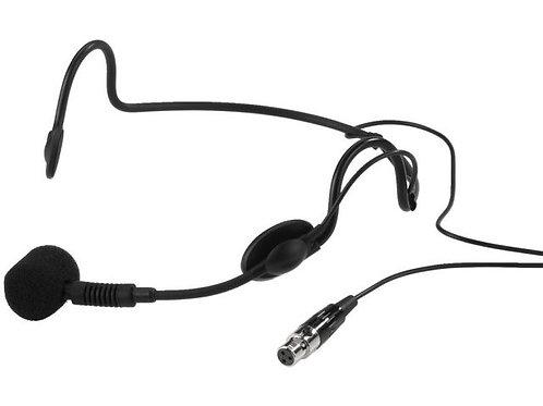 Elektrét fejpántos mikrofon