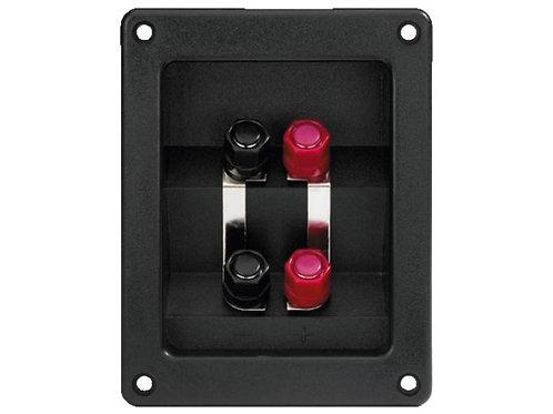Bi-wiring csatlakozó (dupla kábelezéshez)