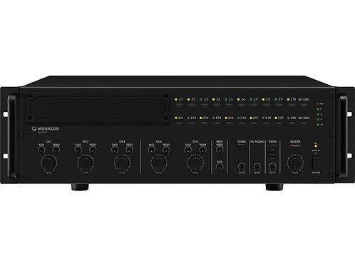 20-zone mono PA mixing amplifier