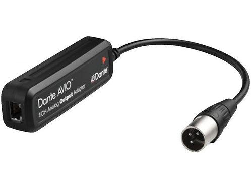 Dante®/ /AVIO analogue output adapter
