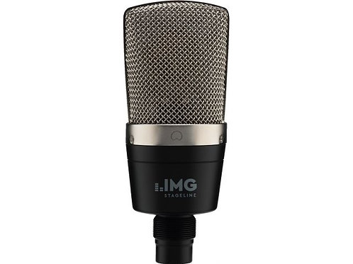 Compact large diaphragm condenser microphone