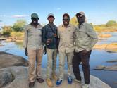 The boys at Ruvuma River