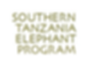 Southern Tanzania Elephant Project