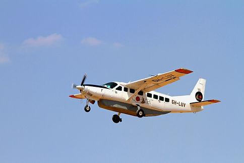 Coastal airplane