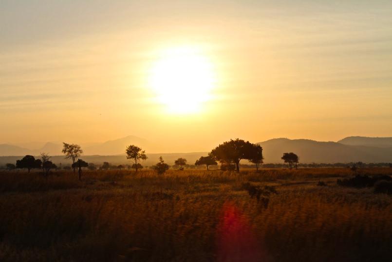 Sunset in Mikumi