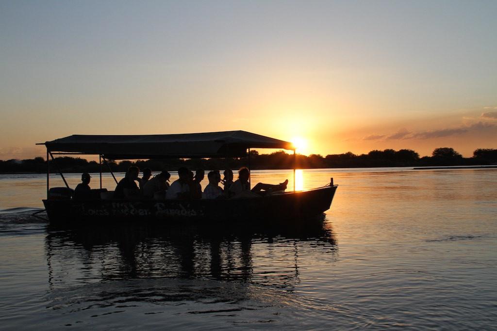 Boat safari on the Rufiji