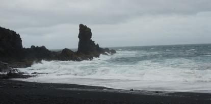 Beaches and roaring ocean